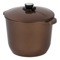 Maker Homeware SmartSteam 12 QT Classic Cookware Color: Bronze