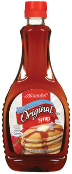 Schnucks Original Sugar Free Syrup 24 Fl Oz Plastic Bottle