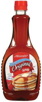 Schnucks Original Sugar Free Syrup 24 Fl Oz Plastic Bottle