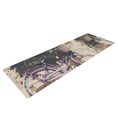 Kess Inhouse Pretty Bicycles by Laura Evans Yoga Mat