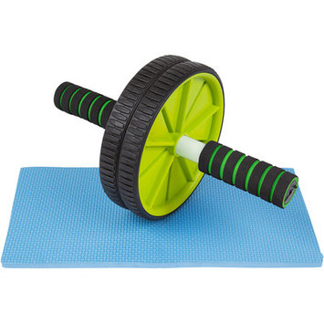 Trademark Innovations Ab Fitness Roller Wheel Color: Blue