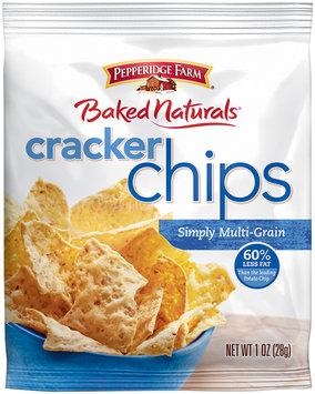 Pepperidge Farms® Baked Naturals® Simply Multi-Grain Cracker Chips 1 oz. Bag