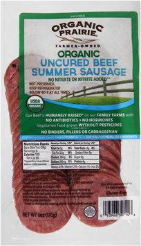 Organic Prairie® Organic Beef Summer Sausage 6 oz. Pack