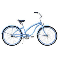 Firmstrong Baby Blue Beach Cruiser Bike