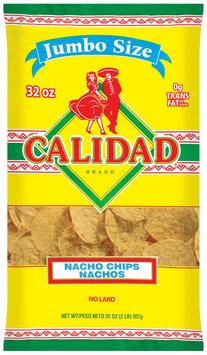 Calidad Nachos Nacho Chips 32 Oz Bag