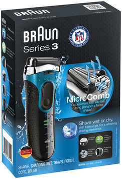 3Series Braun Series 3 3080s Wet & Dry Electric Shaver