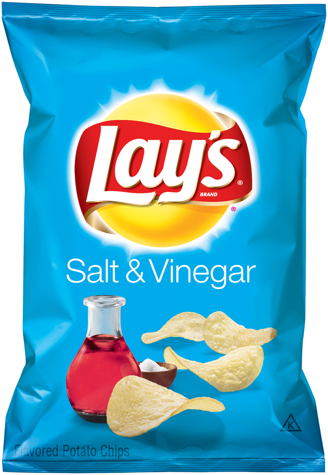 Lay's® Brand Salt & Vinegar Flavored Potato Chips