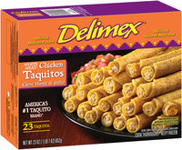 Delimex® White Meat Chicken Taquitos 23 ct Box