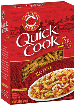 American Beauty  Quick Cook Rotini 16 Oz Box
