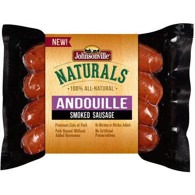 Johnsonville Naturals Andouille Smoked Sausage 12oz pkg (102518)