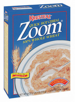 Krusteaz 100% Whole Wheat Zoom Cereal 18 Oz Box