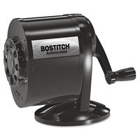 Stanley Bostitch Table/Wall-Mount Manual Pencil Sharpener, Black
