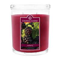 Fragranced in-line Container CC022.445 22oz. Oval Mulberry Candles