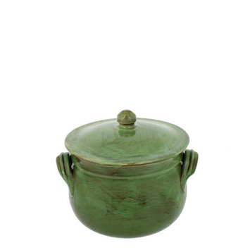 French Home Stock Pot with Faucet Color: Cilantro, Size: 6