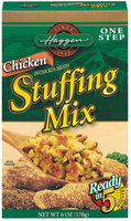 Haggen Chicken One Step Stuffing Mix 6 Oz Box