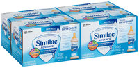 Similac® Advance® Ready to Feed Newborn® Bottles Stage 1 Infant Formula with Iron 8-2 fl. oz. Bottles