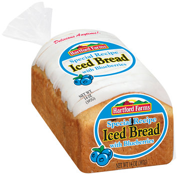 Hartford Farms® Iced Bread with Blueberries 15 oz. Bag