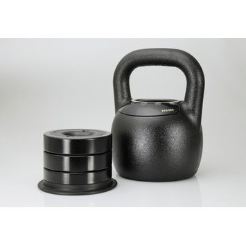 Mileage Fitness Adjustable Kettlebell Weight: 20 - 40 lbs