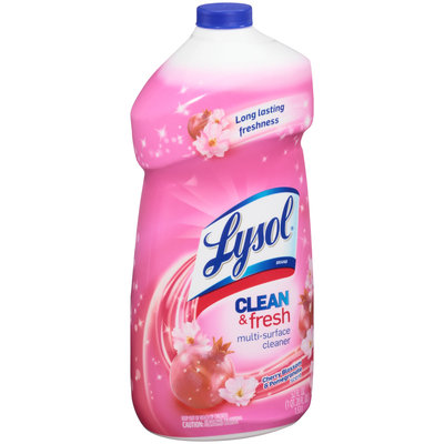 Lysol® Clean & Fresh Cherry Blossom & Pomegranate Multi-Surface Cleaner 52 fl. oz. Plastic Bottle