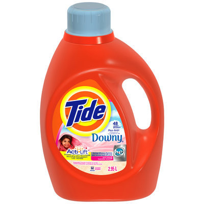 Tide with Touch of Downy HE April Fresh Scent Liquid Laundry Detergent 48 Loads 2.95 L