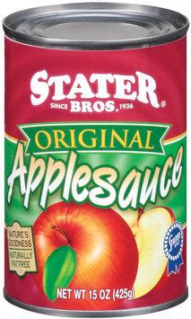 Stater Bros. Original Applesauce 15 Oz Can