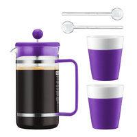 Bodum Bistro French Press Coffee Maker Color: Purple