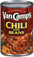 Van Camp's W/Beans Chili 15 Oz Can
