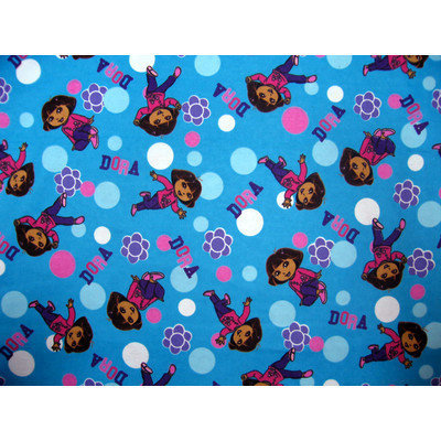 Stwd Dora Portable Mini Fitted Crib Sheet