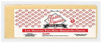 Falbo Classics Mozzarella Low Moisture Part Skim Cheese 6 Lb Loaf