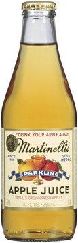 MARTINELLI'S GOLD MEDAL®  Sparkling  100% Apple Juice 10 FL OZ GLASS BOTTLE