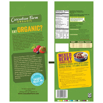 Cascadian Farm™ Organic Antioxidant Berry Blend 48 oz. Bag