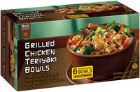 Rice Gourmet Grilled Chicken Teriyaki Bowls