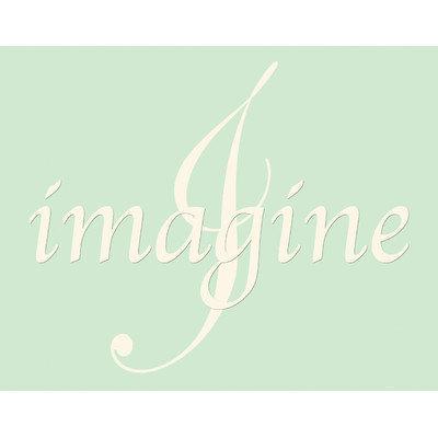 Secretly Designed Imagine Wall Art Print, 14 H x 11 W x 0.25 D