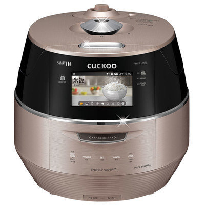 Cuckoo Electronics Cuckoo 10 Cup LCD Display IH Electric Pressure Rice Cooker