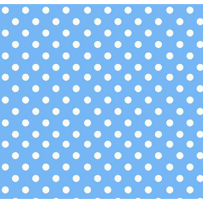 Stwd Primary Polka Dots Woven Crib Sheet Color: Blue