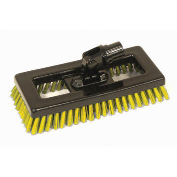 Syr Swivel Deck Brush BLK Bristles Color: Yellow
