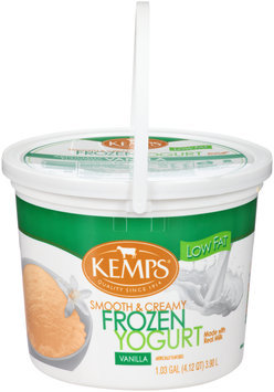 Kemps® Vanilla Frozen Yogurt 1.03 gal. Tub