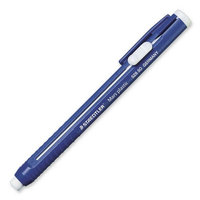 Staedtler, Inc. Stick Eraser, Latex-free, Softy Vinyl, Refillable, Blue
