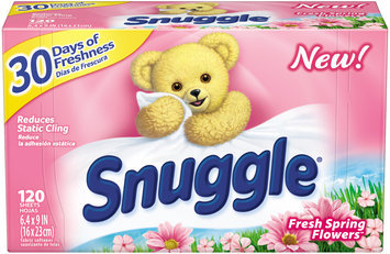 Snuggle® Fresh Spring Flowers™ Fabric Softener Dryer Sheets 120 ct Box