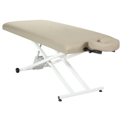 Customcraftworks Elegance Pro Electric Lift Table with Face Rest Base and Pillow Color: Buff