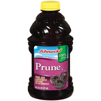 Schnucks Prune 100% Juice 48 Oz Plastic Bottle