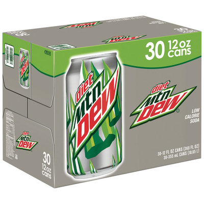 Diet Mountain Dew® 30 Pack 12 fl. oz. Cans