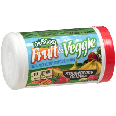 Old Orchard® Fruit & Veggie Strawberry Banana Juice Blend from Concentrate 12 fl. oz. Canister