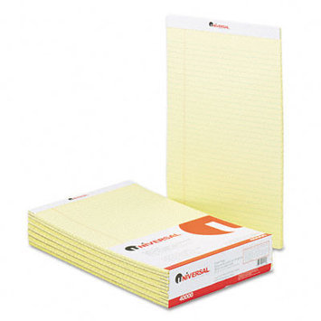 Universal Office Products Ruled Glue-Top Writing Pads Universal