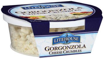 Litehouse® Gorgonzola Cheese Crumbles 4 oz. Tub