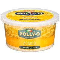 Polly-O Shredded Asiago Cheese 5 oz. Tub