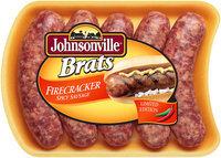 Johnsonville Firecracker Spicy Brats 19oz tray (101730) Holiday Promo