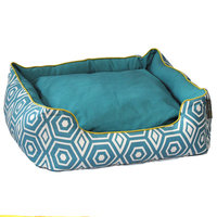 Ez Living Home Honeycomb Couch Dog Bed Size: Large - 25