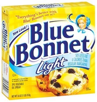Blue Bonnet Light 39% Vegetable Oil Spread 16 Oz Sticks
