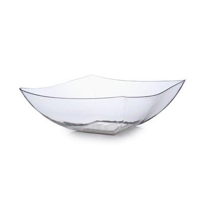 Fineline Settings, Inc Wavetrends 64 oz. Serving Bowl (Pack of 50), Clear